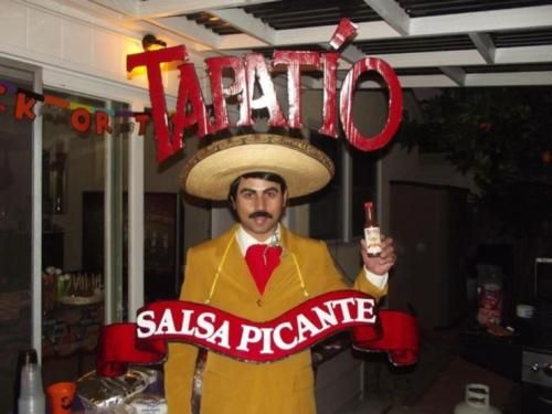 cosplay tapatio salsa picante costume