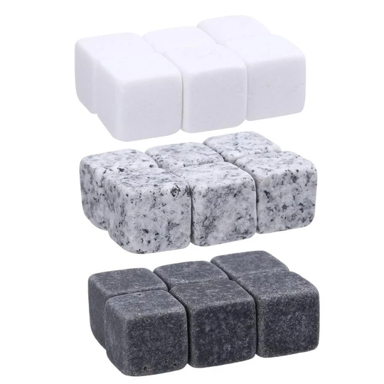 6pc 100 Natural Whiskey Stones Sipping Ice Mold Whisky Stone Whisky Rock Cooler Wedding Gift Favor Christmas Bar In 2020 Whisky Stones Chilling Stones Whiskey Stones