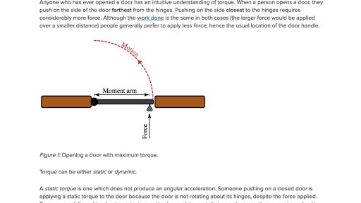 Aprenda como calcular o torque exercido por uma força ...