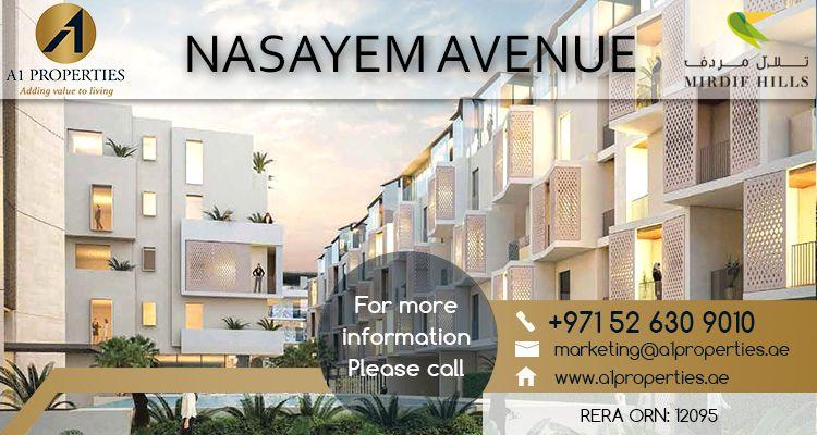 Nasayem Avenue Completes Construction Milestone Dubai Investments Real Estate Company Announced That The Nasayem Avenue Real Estate Companies Property Estates