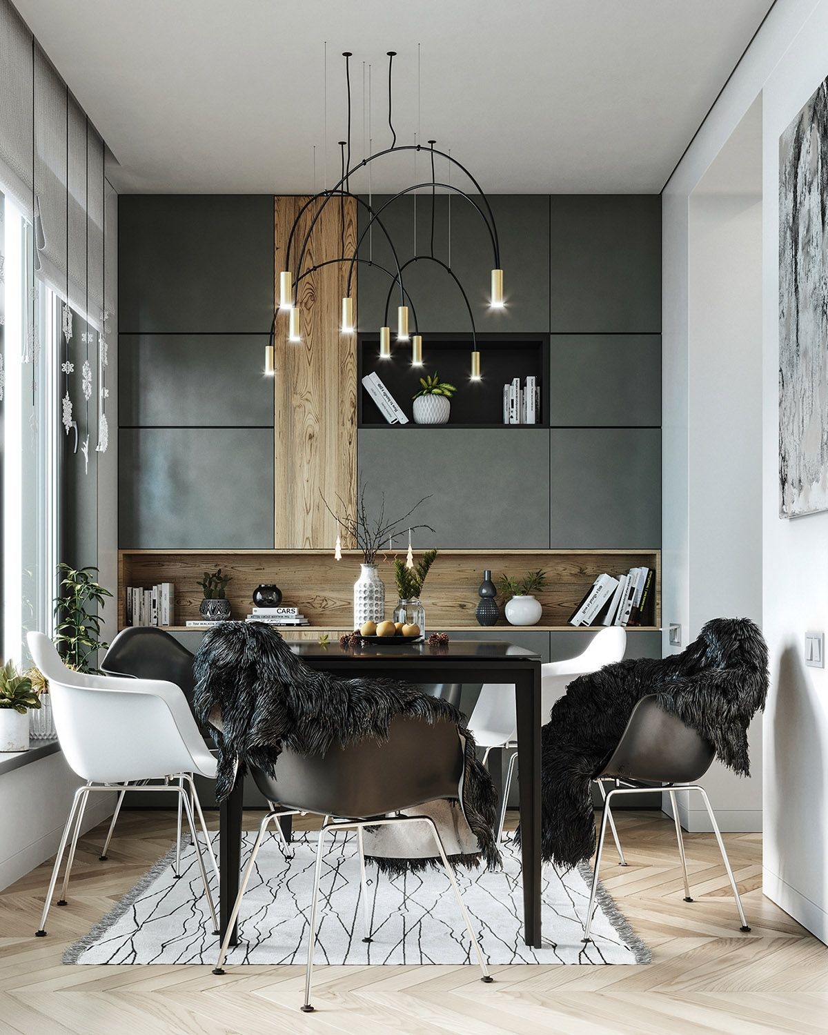 21 Scandinavian Dining Room Designs Decorating Ideas: 5 Fresh & Funky Scandinavian Style Home Interiors