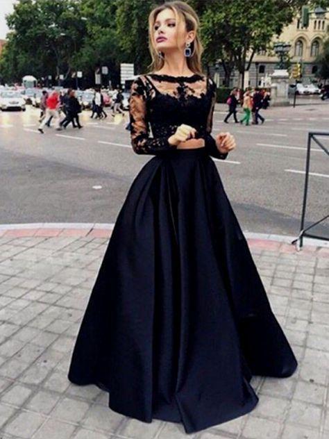 black prom dress tumblr Naf Dresses | Kleider | Pinterest | Black ...