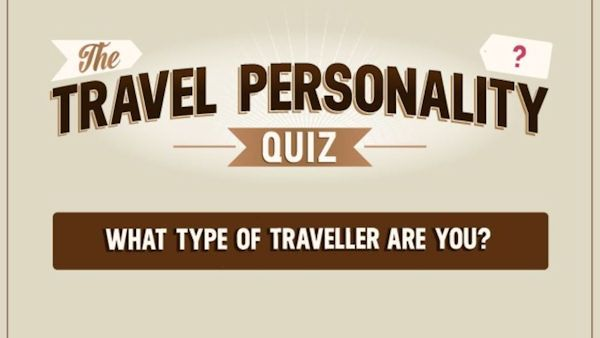 What type of traveller are you? Take our quiz and be in with a chance of winning £2,000 towards a holiday