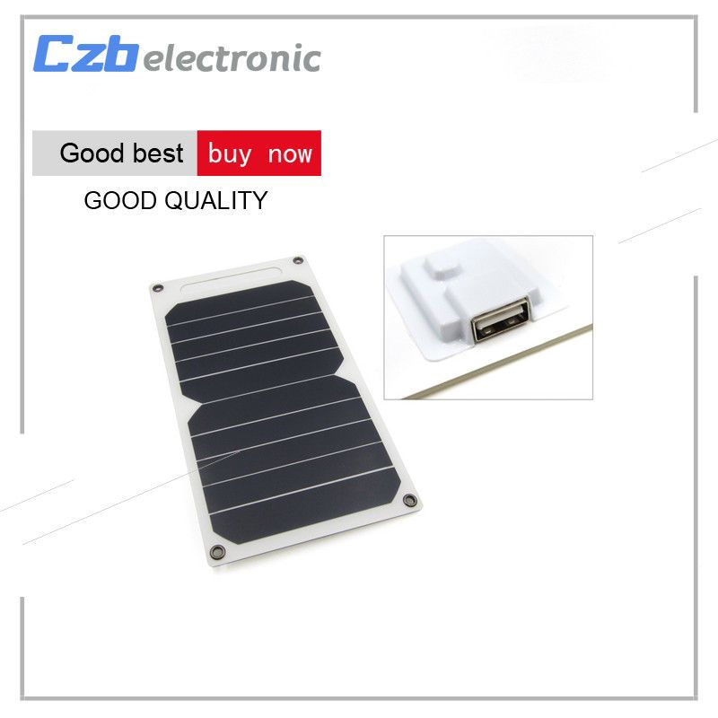 New Usb Ports 5v Solar Panel Charger 10w Portable Ultra Thin Solar Panel For Gcsupermarket Solar Panel Charger Solar Charger Solar Panels