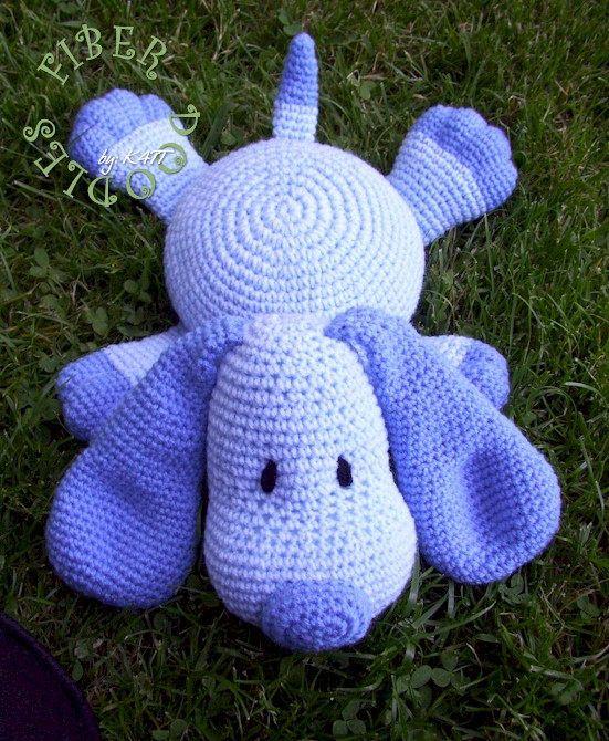 Instant Download Pillow Pal Puppy Crochet Pattern Pillow Pals