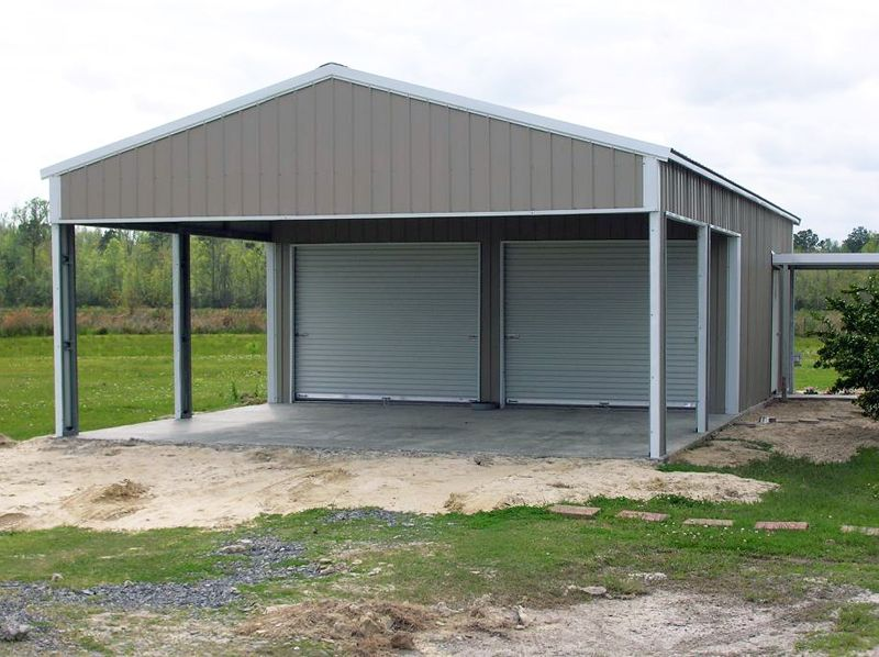 Gallery American Home American Custom Barns Com Metal Garage