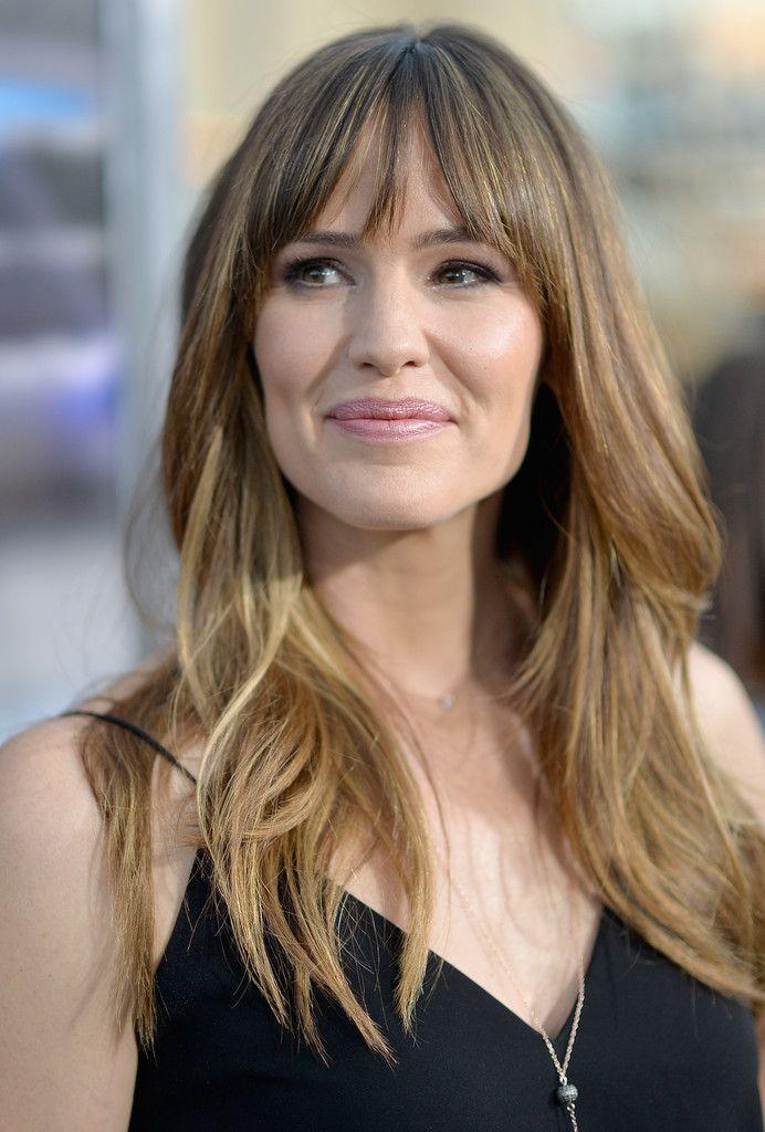 Hair Envy Of The Day Jennifer Garner S Fringed Bangs Jennifer
