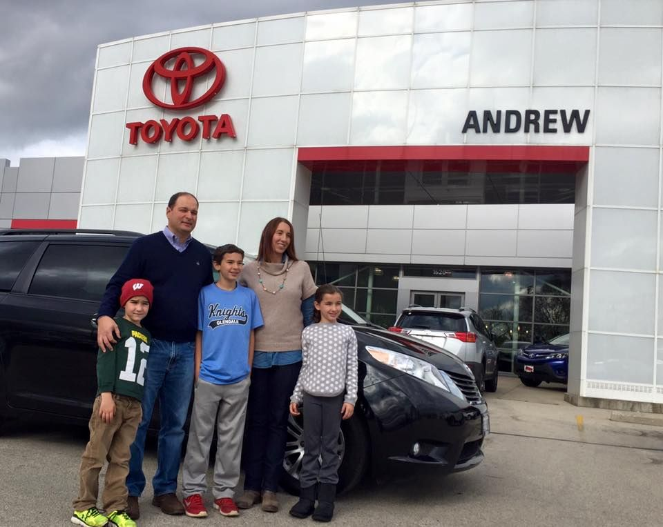 Another Happy Andrew Toyota Scion Family! Car dealership