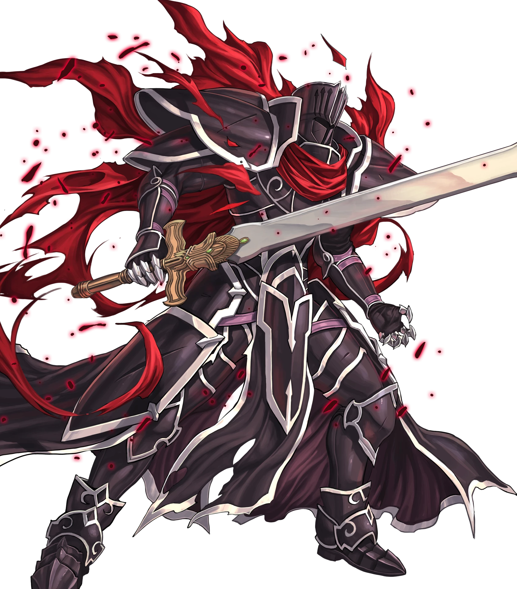 Full Injured Black Knight Png Png Image 1684 1920 Pixels Scaled 49 Fire Emblem Knight Armor Fire Emblem Heroes
