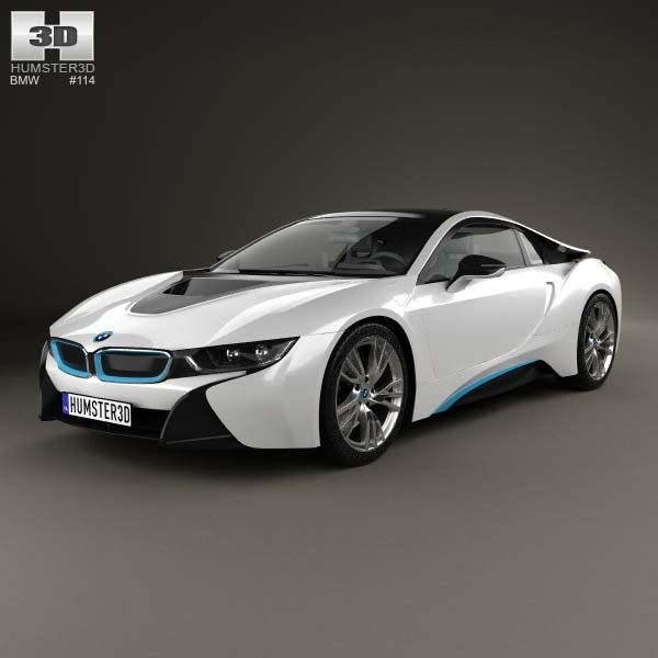 Bmw I8 2014 3d Model From Humster3d Com Price 75 Bmw 3d Models
