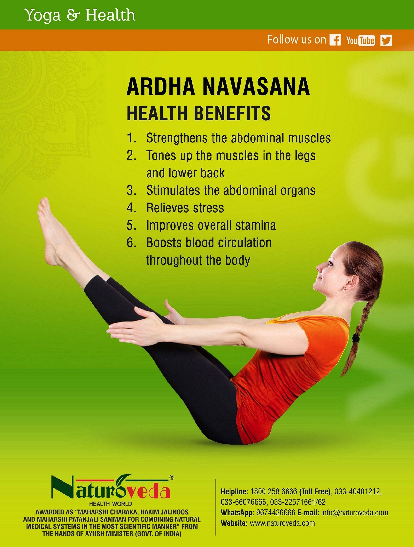 Ardha Navasana Yoga Facts Yoga Health Healing Yoga