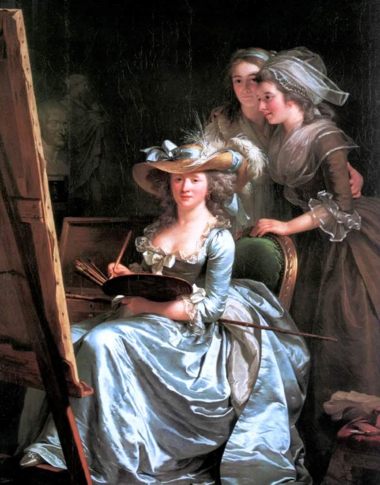 Épinglé sur Peinture Portraits de femmes (Women's portraits)