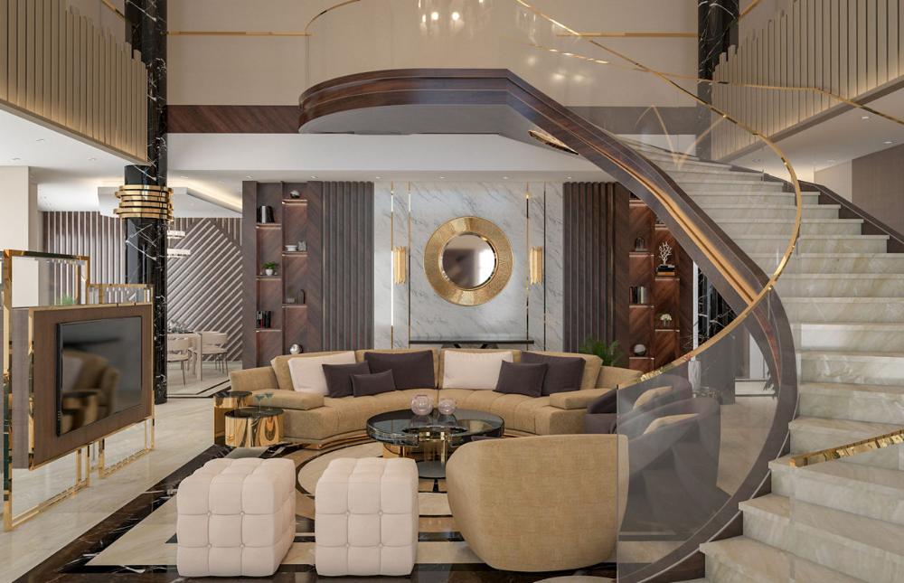 Luxury Contemporary Villa Interior Design Comelite Architecture Structure And Interio In 2020 Hotel Interior Design Classic House Interior Design Minimalism Interior