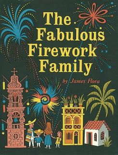 """The Fabulous Firework Family"" - James Flora (original)"