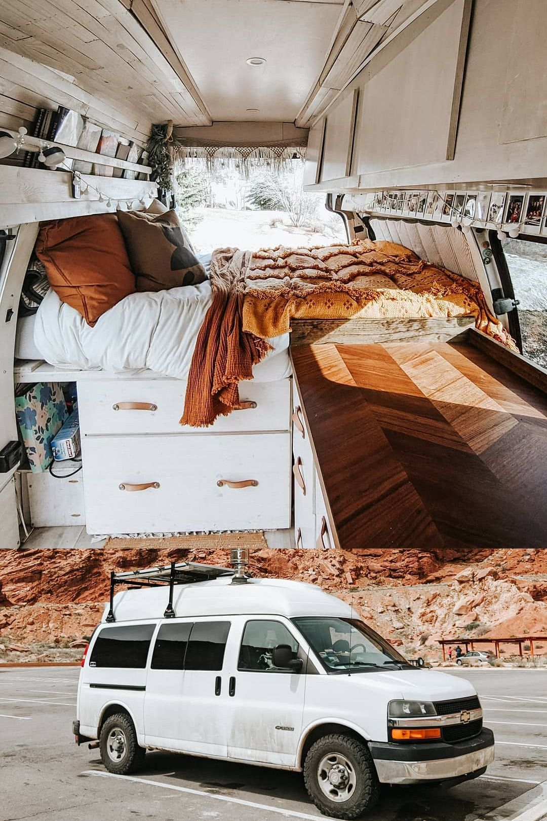 Stunning Self Converted 06 Chevy Express Van In 2020 Chevy Express Chevy Astro Van Van Life Diy