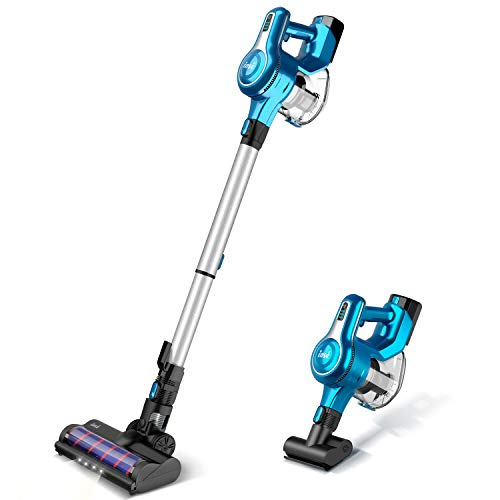 Inse Cordless Stick Vacuum Cleaner 23kpa Powerful Suction With 250w Motor Stick Handheld Vacuum Lightweight Quiet Topvacuumscleaner In 2020 Cordless Stick Vacuum Cleaner Vacuum Cleaner Stick Vacuum