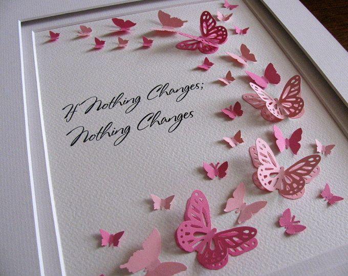 80 Mariposas Tarjeta Mariposa Pascua día de las Madres
