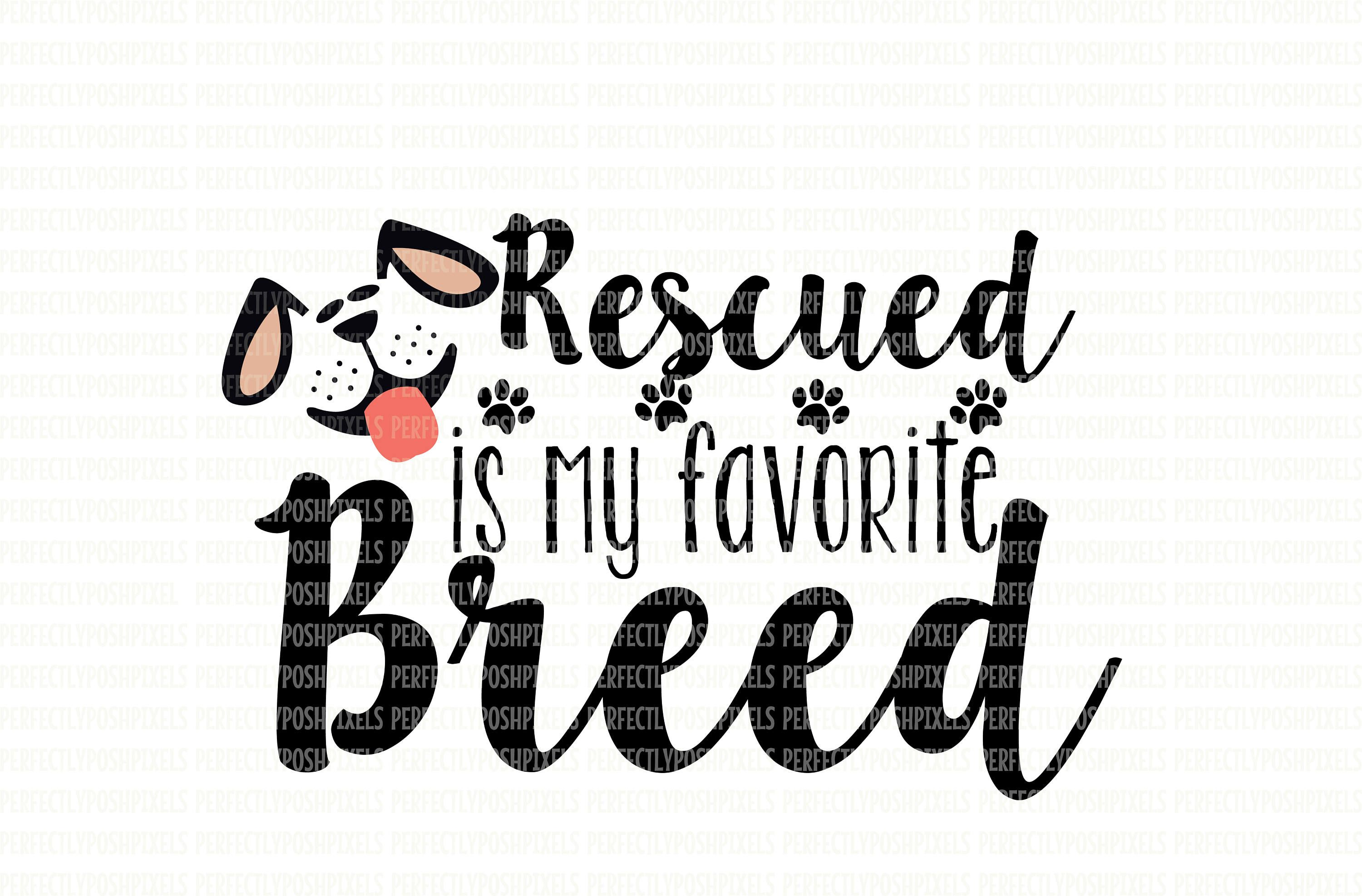 Animal Rescue SVG SVG files for Cricut Commercial Use Clipart Love Paw Clip Art Love Rescued Me SVG