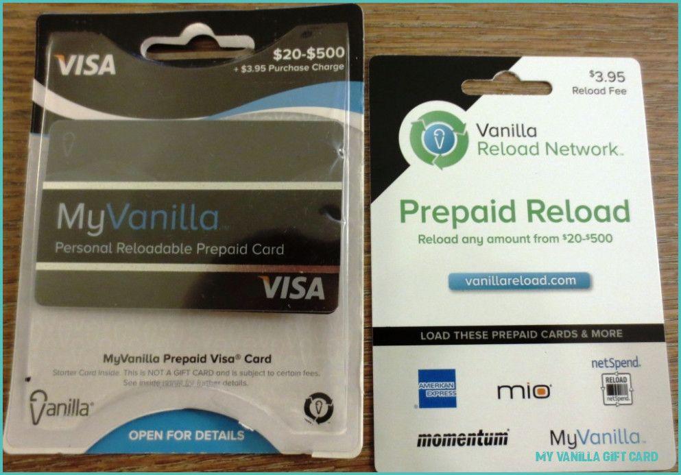 How I Successfuly Organized My Very Own My Vanilla Gift Card My Vanilla Gift Card Https Cardsvista Com H Prepaid Visa Card Visa Gift Card Gift Card Balance
