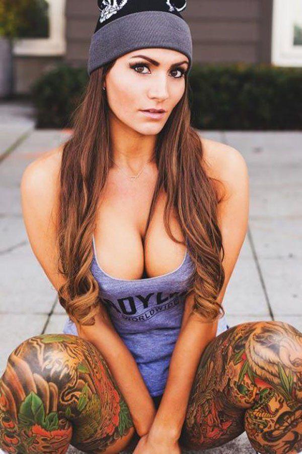 Tattooed sexy women