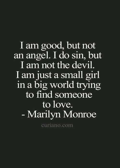 Quotes marilyn monroe love