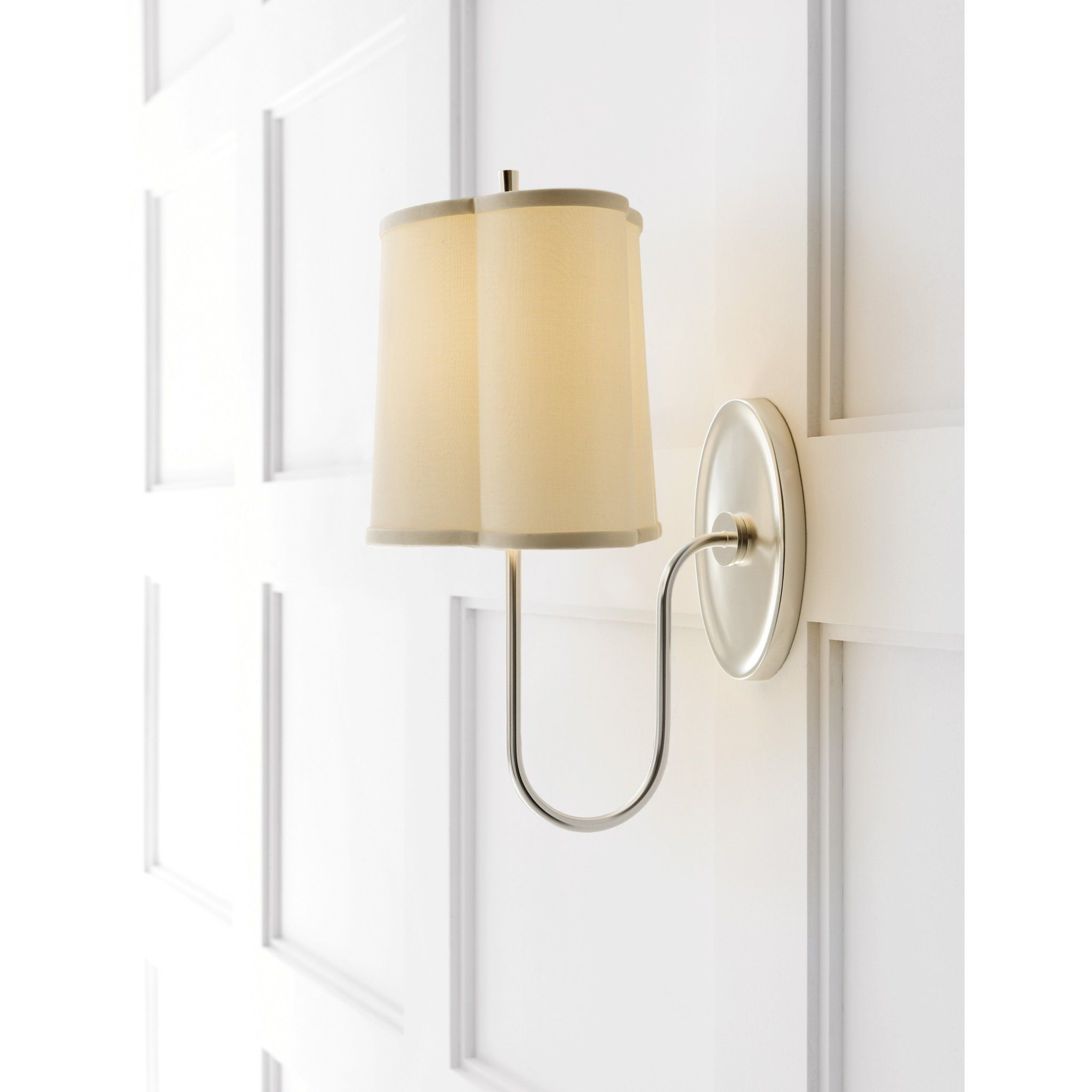 Visual Comfort Bbl 2017ss S Barbara Barry Modern Simple Scallop Wall S Foundry Lighting Visual Comfort Modern Wall Lights Sconces