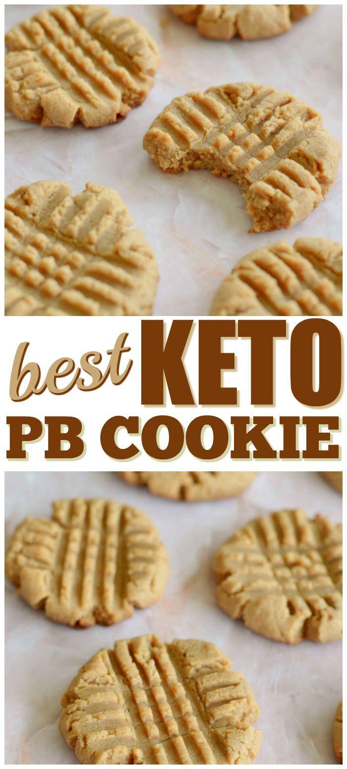 Best Keto Peanut Butter Cookie If You Want The Best Low Carb Peanut Butter Cookie Then You Galletas Keto Recetas De Galletas Saludables Recetas De Postre Keto