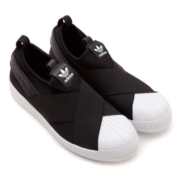 venta al por mayor belleza mejor barato Superstar Slip On Adidas via Polyvore featuring shoes ...