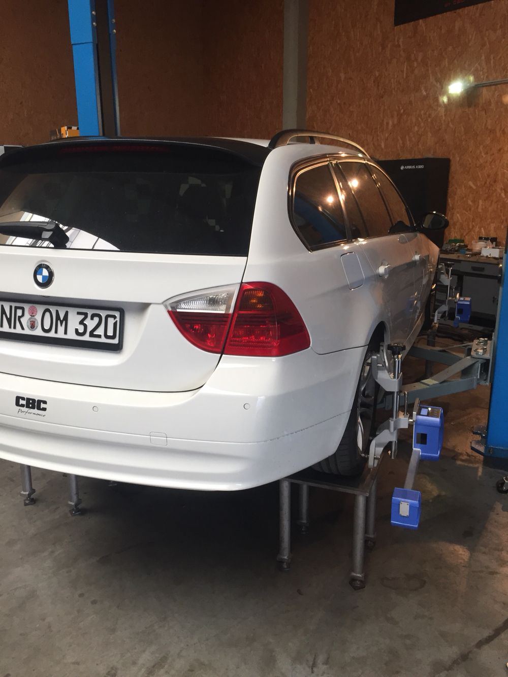 New Suspension in Daily BMW 320d. ST Suspensions. Ockenfels Perfomance
