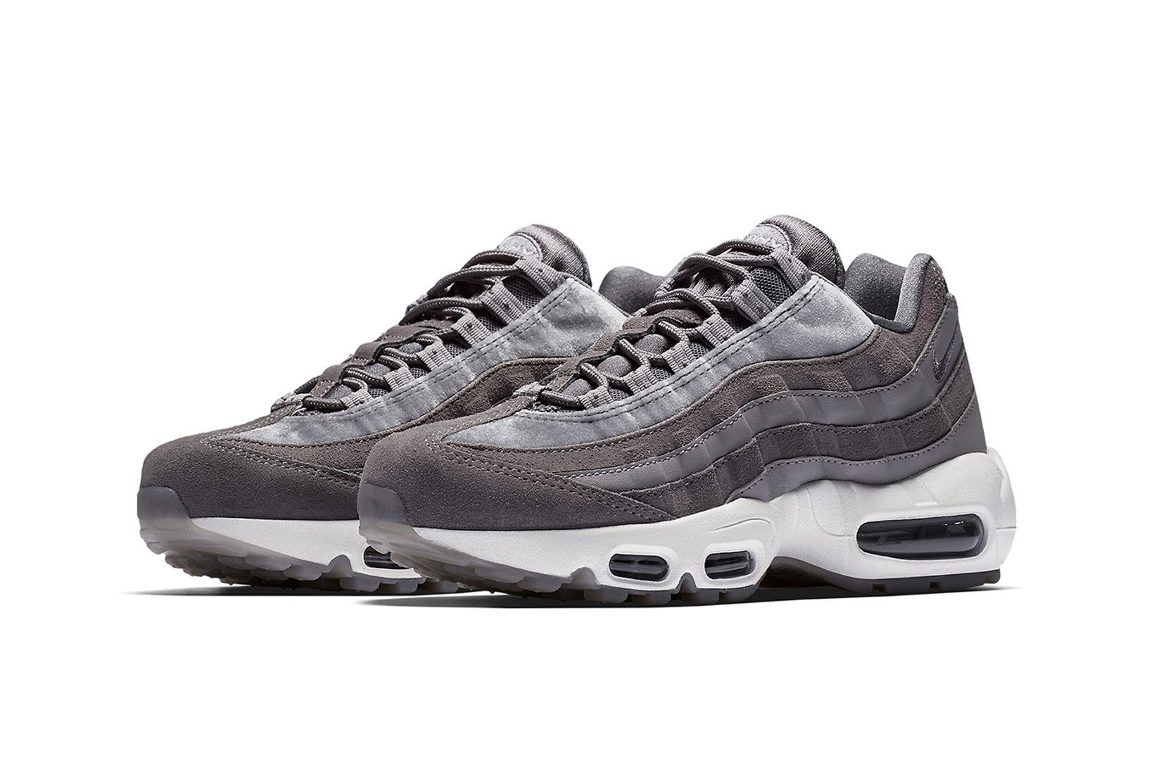 Nike Keeps it Clean with the Air Max 95 'Gunsmoke' | Air max