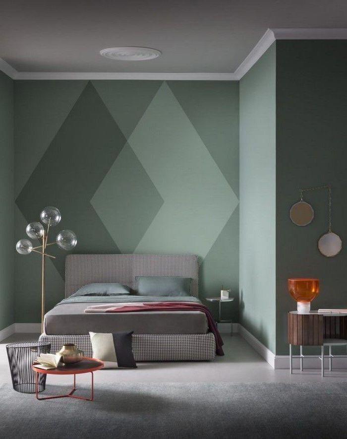 chambre bleu canard tendance couleur 2018 d coration. Black Bedroom Furniture Sets. Home Design Ideas