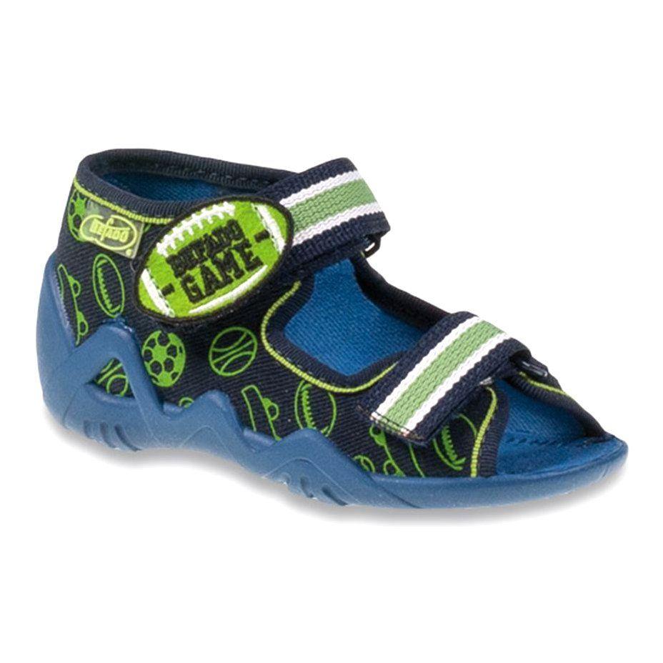 Befado Zielone Obuwie Dzieciece 250p070 Granatowe Childrens Shoes Childrens Slippers Kid Shoes