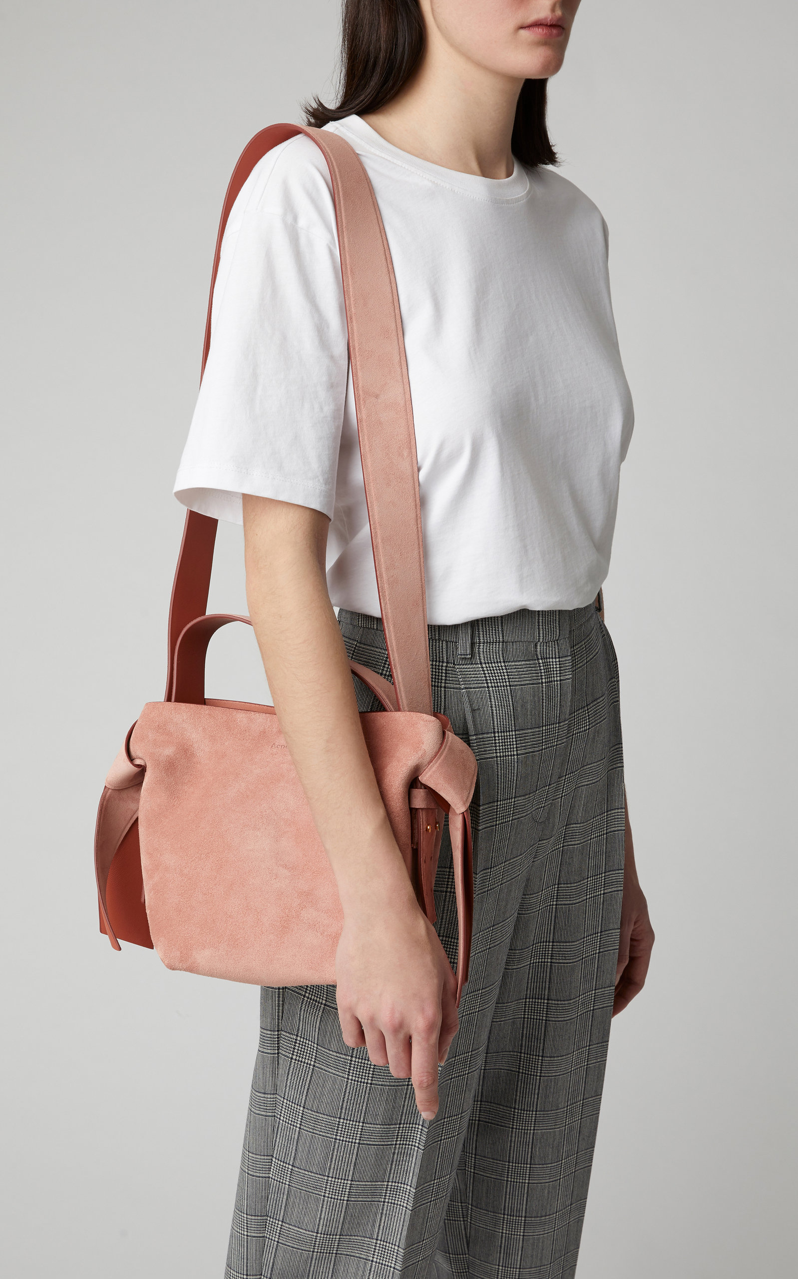 Belly bag Lucas in old pink leather