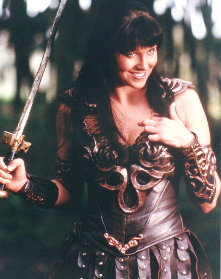 War Xena In Der Gleichnamigen Tv Serie Lucy