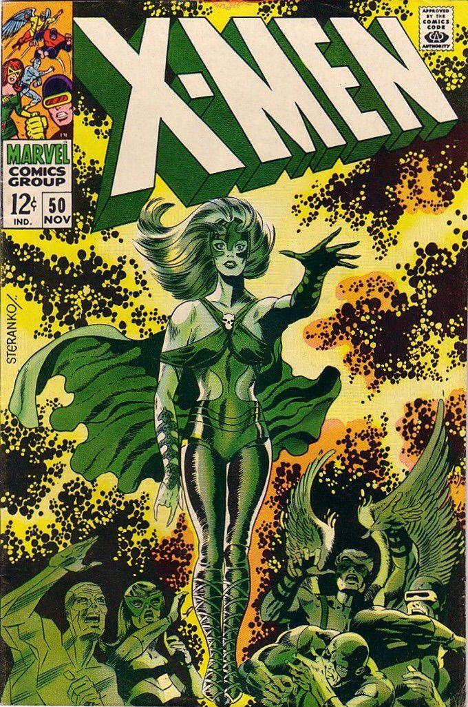 X Men Vol 1 50 Lorna Dane By Jim Steranko Jim Steranko Comic Book Artists Silver Age Comics