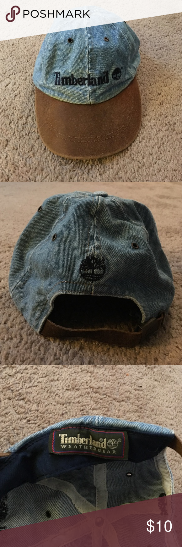90170694d1c Old school Timberland leather hat