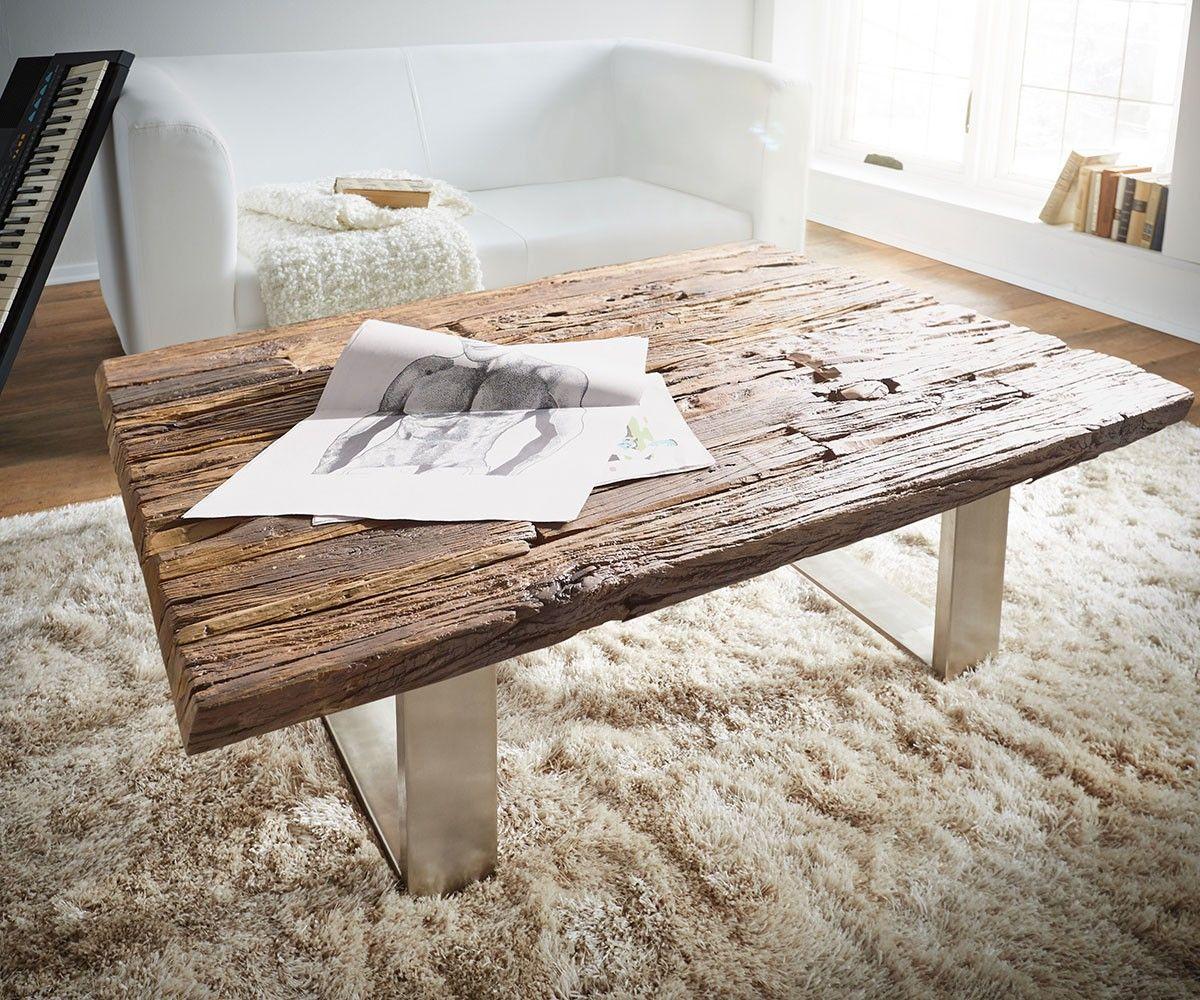 couchtisch yasimo 110x110 braun treibholz metallgestell ideen pinterest treibholz. Black Bedroom Furniture Sets. Home Design Ideas