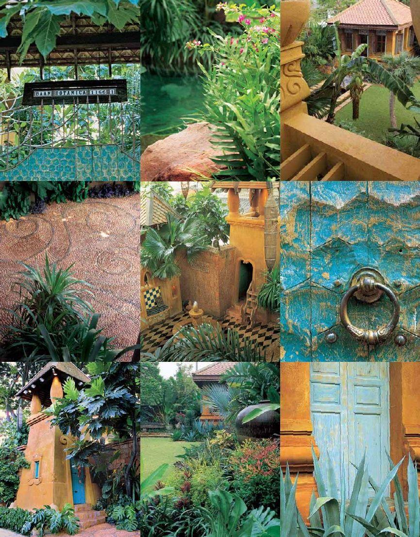 Architect Bill Bensley's garden in Bangkok; Garden Design ...