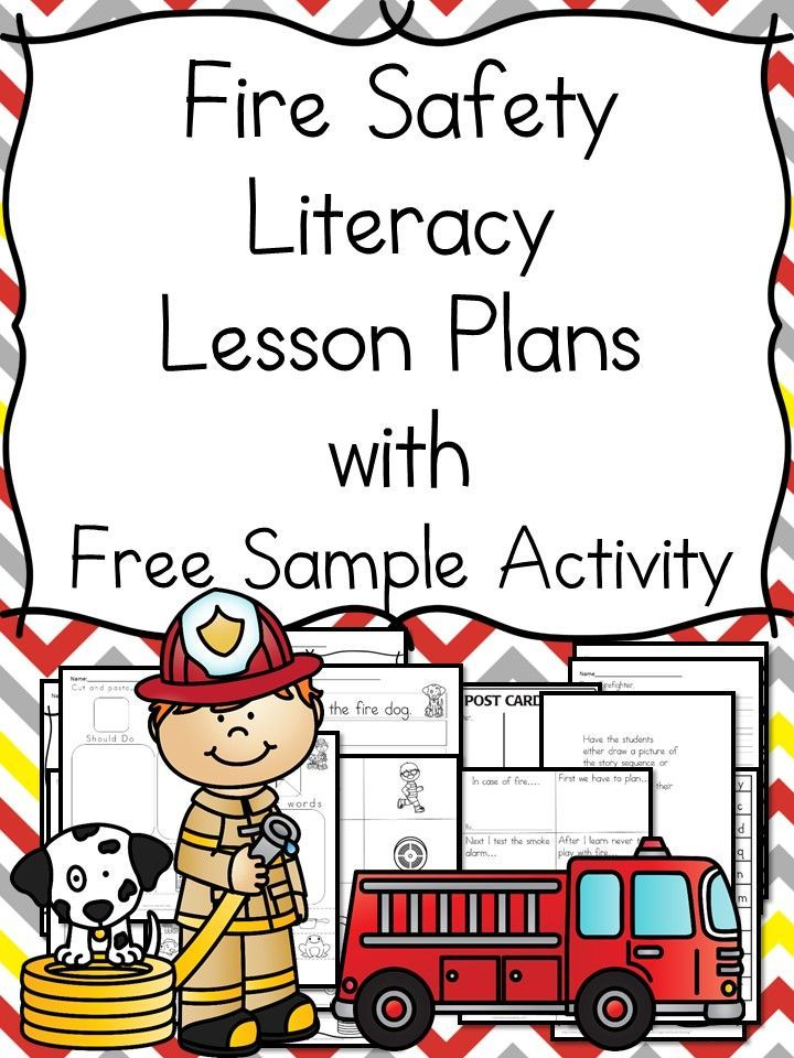 Fire Safety Worksheets For Kindergarten With Book Ideas
