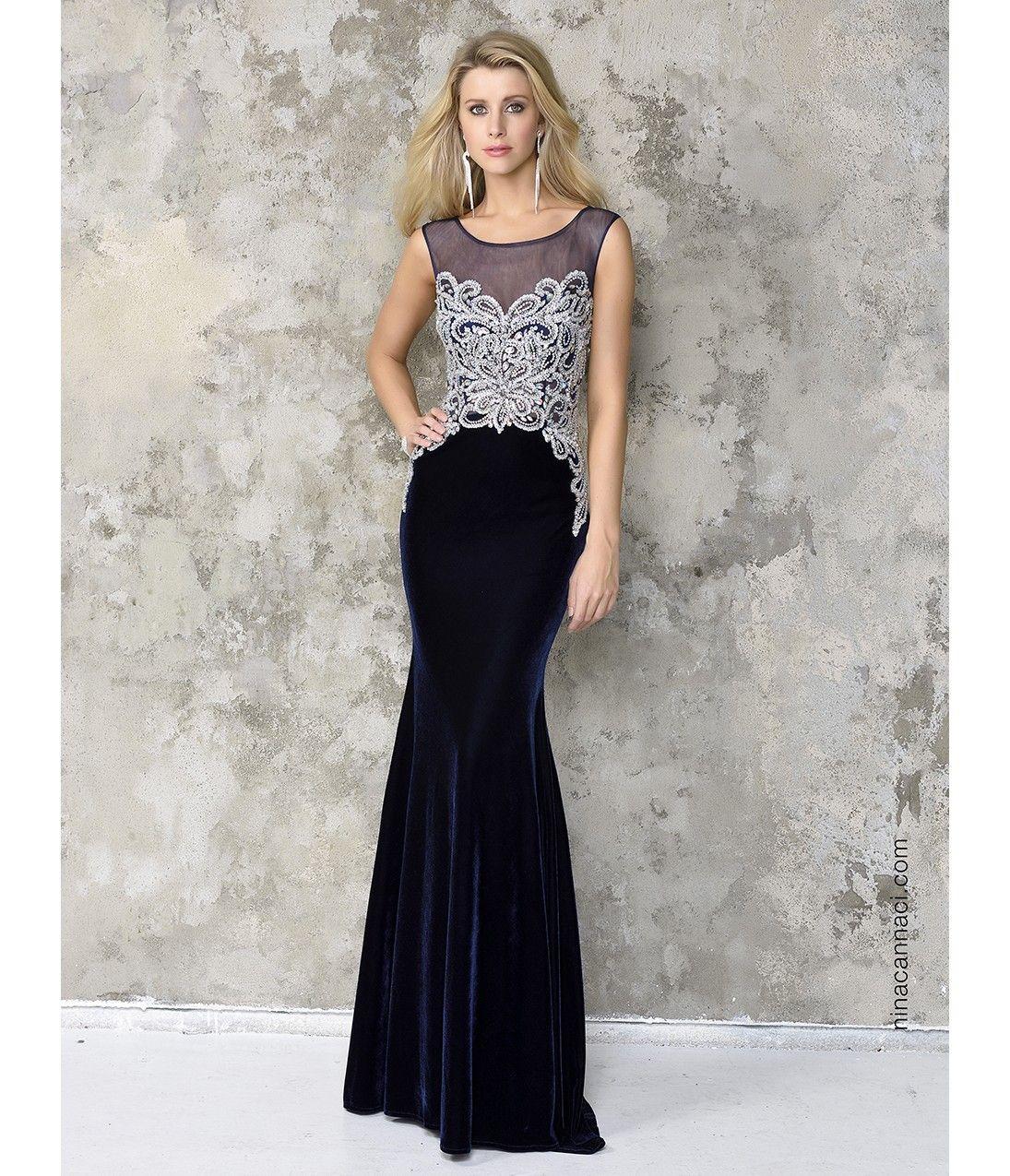 Navy blue sexy velvet long dress prom style pinterest prom
