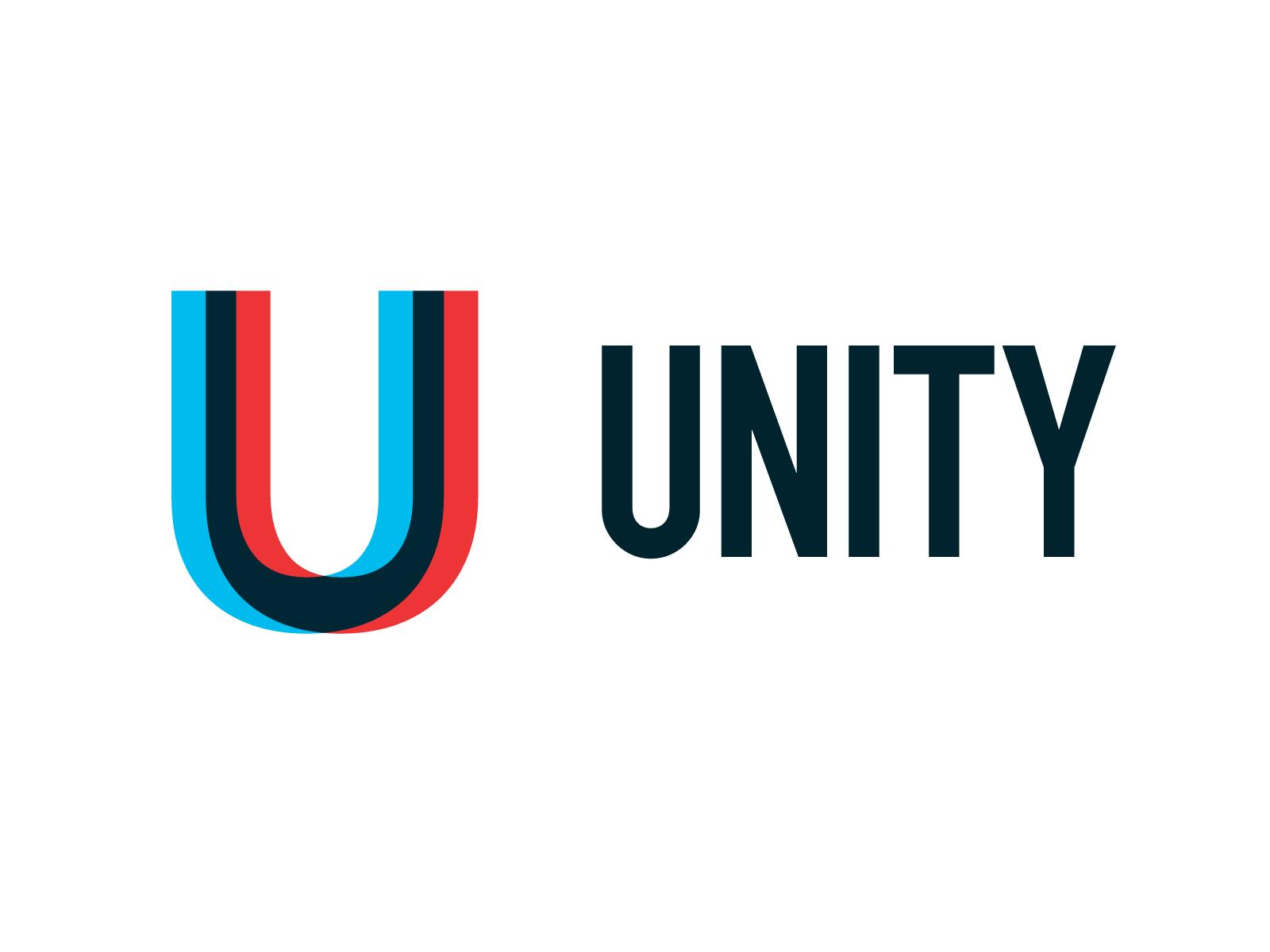 U Unity Logo 6 26 Alphabet Logo Unity Logo Unity Vintage Logo Design