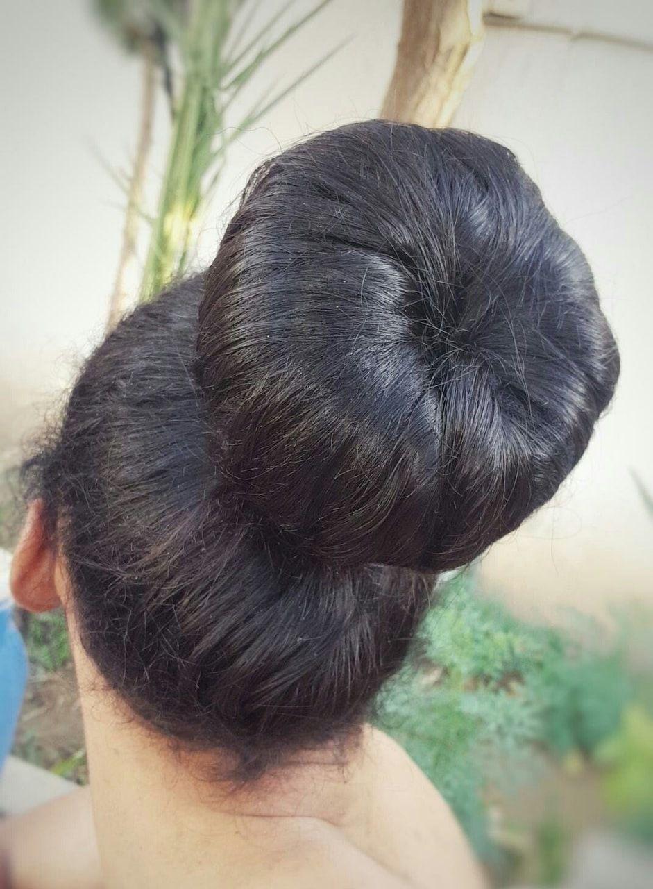 Hair Bun Donut Big Hair Bun Hair Hairstyle Bun Style