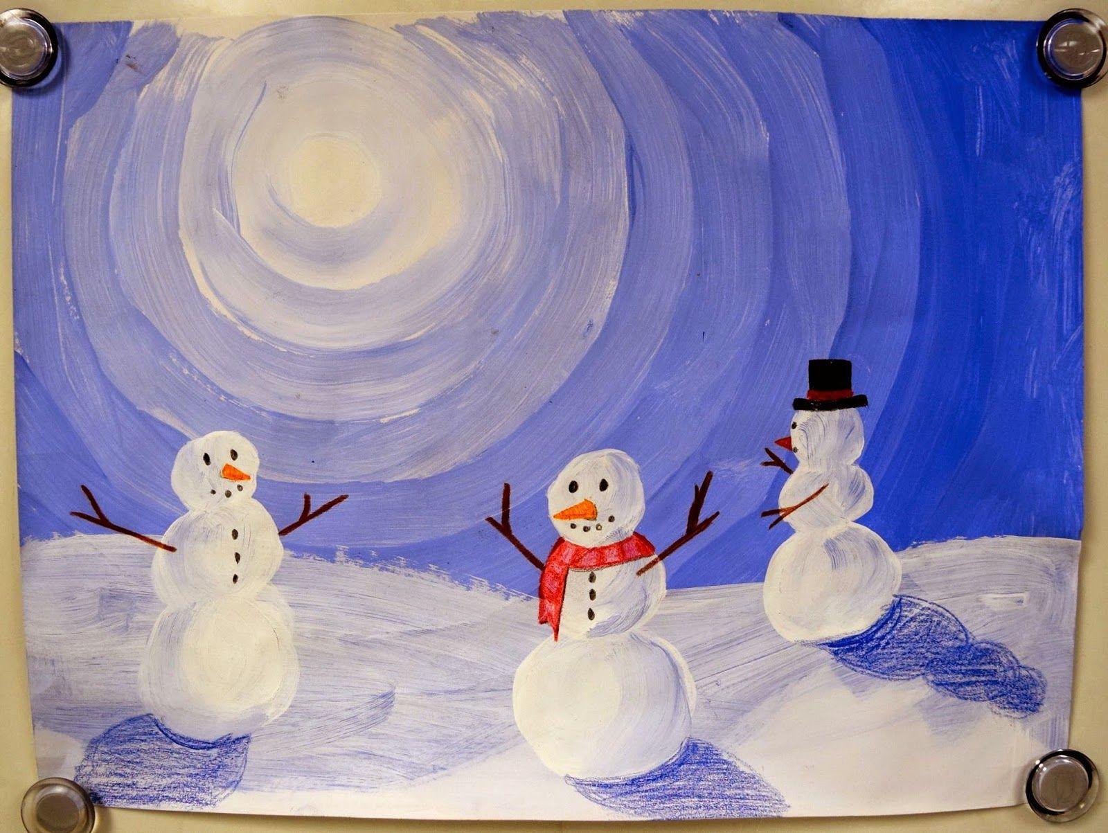 3rd 4th 5th 6th Winter Value Snowmen Tints