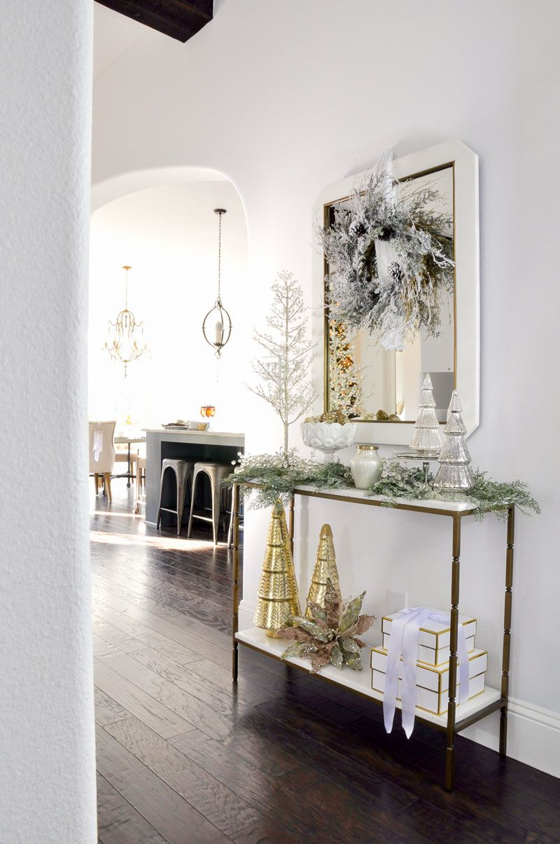 Christmas Home Tour - Featuring | Xmas, Christmas entryway and ...