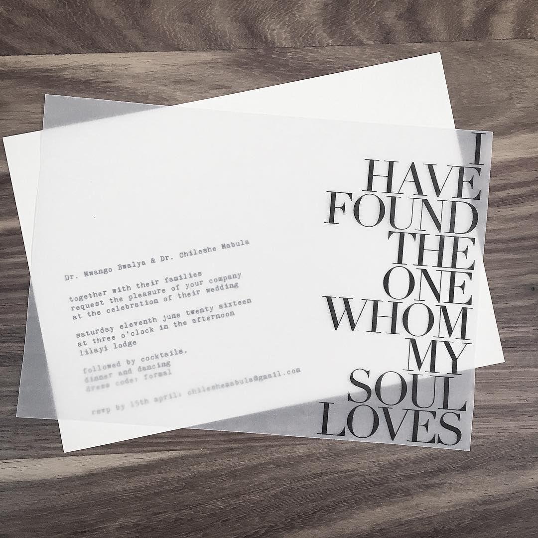 #minimal #modern #bold #romantic #transparent