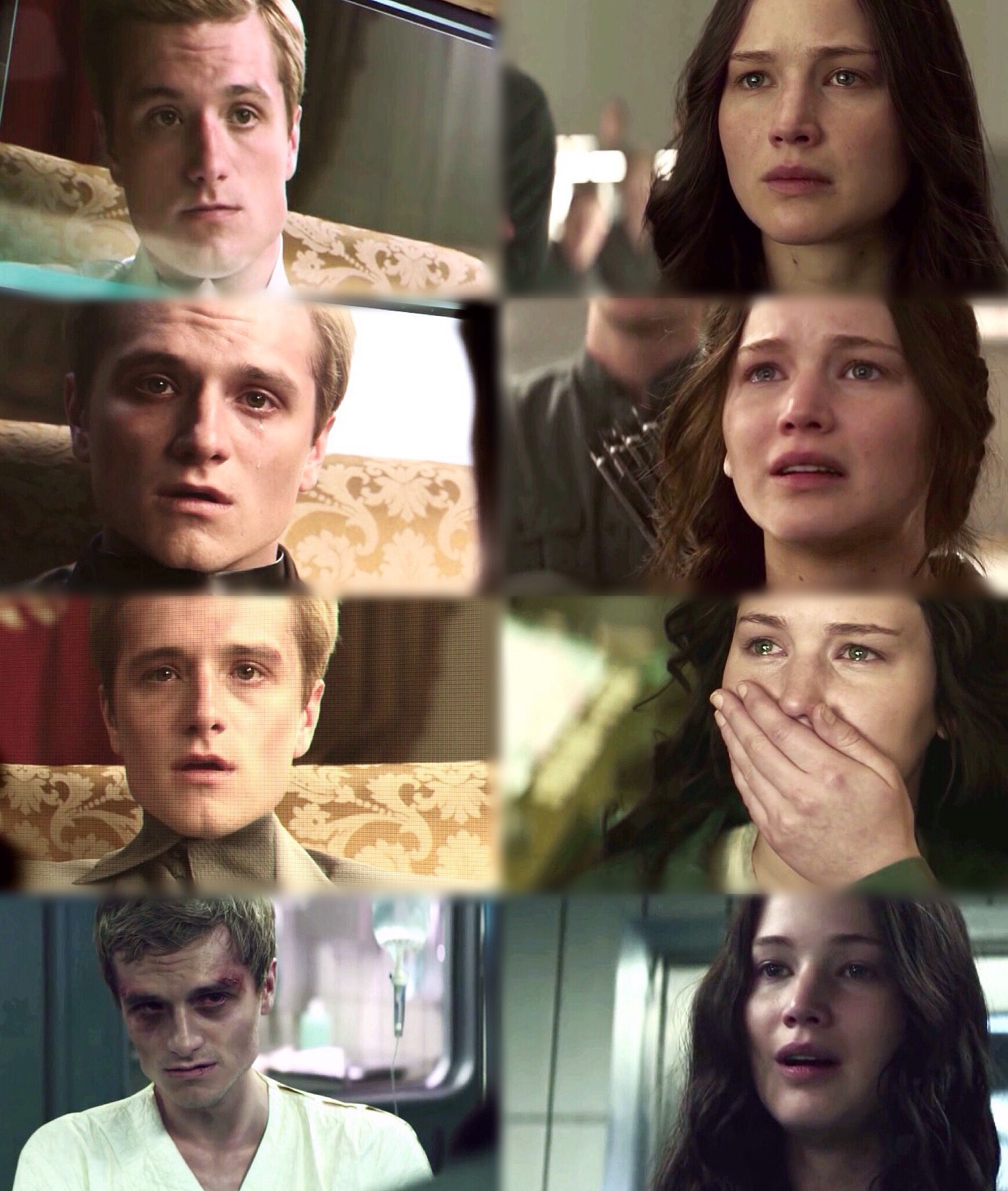 | Peeta and Katniss - Mockingjay part.1 |