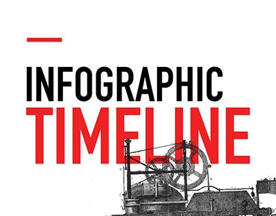 Consultez ce projet @Behance: \u201cInfographic Timeline\u201d https://www.behance.net/gallery/28373289/Infographic-Timeline
