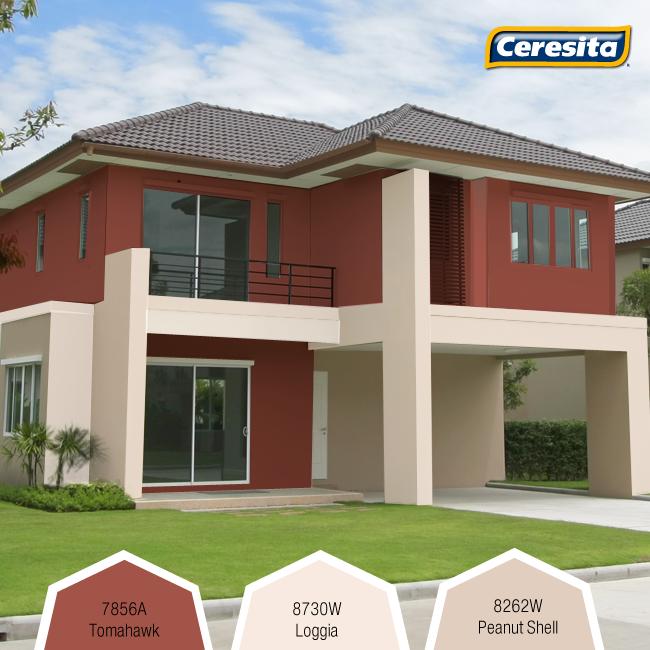 Colores para casas exteriores comex 650 450 pixeles - Pintura fachada exterior ...