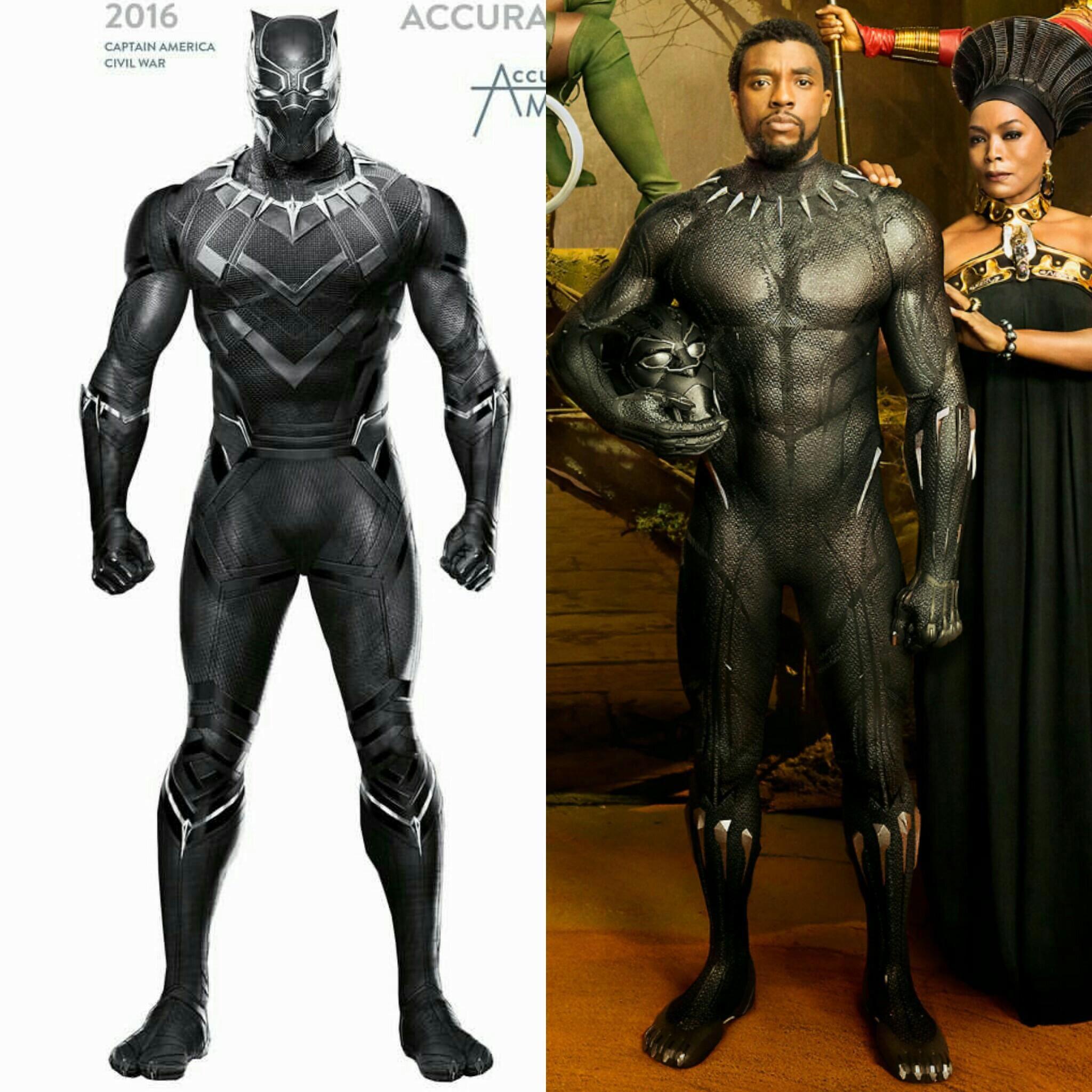 Civil War Suit And Black Panther 2018 Suit Black Panther 2018 Black Panther Panther