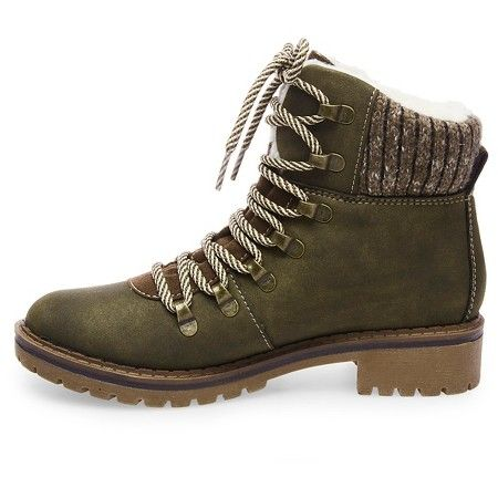 1c446ad79e4 Women s Bettyann Shearling Style Boots - Green 7.5   Target  sunglasses   accessories  boots  college  fashion  gameday  outfit  style